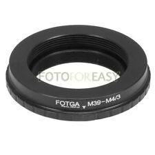 FOTGA Leica M39 39MM Lens to Micro 4/3 M43 Adapter G2 EP1 EP5 GF3 GF6 GX7 EPL5