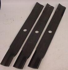 """JOHN DEERE Genuine Blade set of 3 M141785 60"""" mower decks 400 series tractors"""