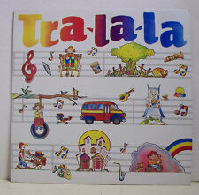 """33 tours TRA-LA-LA Disque Vinyle LP 12"""" Chansons Enfants Rép. DOMINICAINE  RARE"""