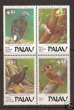 PALAU # 204-207 MNH ENDANGERED BIRDS