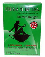 China Slim Tea Dieter's Delight 72 Bags for Men & Women