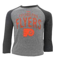 Philadelphia  00006000 Flyers Youth Kids Size Official Reebok Nhl Long Sleeve Shirt New