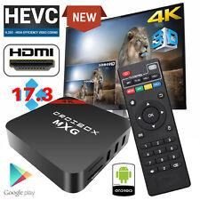 MXG Quad Core Android 6.0 TV Box 4K Ultra HD 2017 New 17.3 Pro Media Player WIFI