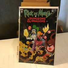 Rick And Morty vs Dungeons & Dragons #2 IDW 1:20 Retailer Incentive RI-A variant