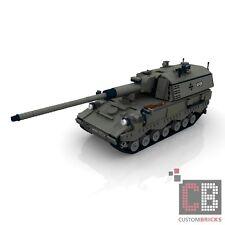 CUSTOM PDF Bauanleitung Bundeswehr PZH 2000 Panzerhaubitze MW für LEGO® Steine