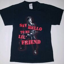 Al Pacino SCARFACE ''Say Hello To My Lil' Friend'' Graphics T-shirt SMALL