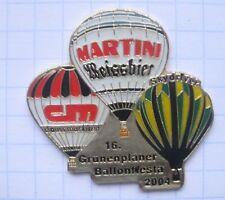 MARTINI WEISSBIER / CLAUSS MARKISEN / KASSEL   ... Bier - Ballon - Pin (124k)