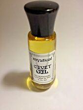 Very Rare Olfactory Corp Civet oil Essential oil Vintage / Unused/ New 1/2 oz