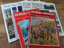 Vintage Horse and Hound Magazines