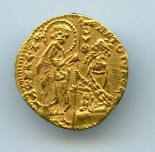 Italy Venice. Antonio Venier gold Ducat ND (1382-1400) XF