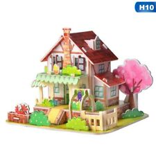 3D World Architecture Puzzle Models Educational Building Puzzle Set-Garden  New