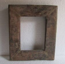 Vintage Old Wooden Hand Carved Handmade Picture Photo Frame, Collectible