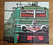 catalogue  meccano   HOrnby  acHO   1966  /  1967...  superbe