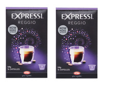 32 Capsules (2 boxes) Aldi Expressi Coffee Pods Reggio - Intensity 9