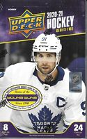 2020-21 Upper Deck Series 2 Hockey Hobby Box Sealed - 24 Packs / box KAPRIZOV ??