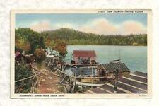 Fishing Village, Lake Superior North Shore Minnesota, Zenith-Interstate News Co