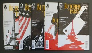 Butcher of Paris #1-5 (2019) NM/VF Complete Series True Crime Dark Horse Comics