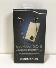 Plantronics BackBeat GO 3 Sweatproof Wireless Earbuds + Charge Case Cobalt Blue