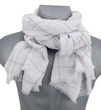 Men's Scarf white beige von Ella Jonte new season fashion Scarf soft scarf