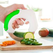 Couteau Circulaire 360 Cut Coupe Légumes Food Roll Roue Tranche Samurai - NeuF
