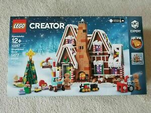 ❄️New, Factory Sealed LEGO Creator Expert Gingerbread House 10267-READY TO SHIP