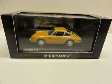 MINICHAMPS PORSCHE 911 (1964) Bahama Yellow 430067124  SOLD OUT!