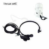 Covert Earpiece Headset Throat Mic For Kenwood Baofeng Radio Walkie Talkie 2PIN