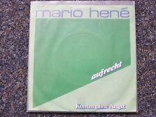 Mario Hene - Aufrecht 7'' Single