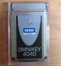 HID Omnikey Cardman 4040 PCMCIA Smart Card Reader