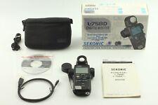 [Top Mint in  box] Sekonic L-758 D Digital Master Light Meter w/ Case from JAPAN
