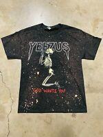 Kanye West Yeezus Acid Washed T Shirt