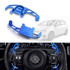 Aluminum Blue Steering Wheel DSG Paddle Extension for VW Golf Jetta GLI GTI MK7