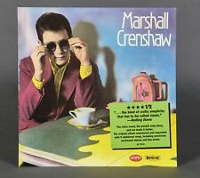 The Best of Marshall Crenshaw This Is Easy 2-Sided Promotional Flat New Rare