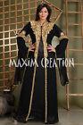 Abaya Jalabiya jilbab Dubai Islamic Arabian Fancy Maxi Thobe Kaftan Dress 3272
