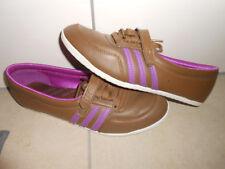 Adidas Concord Round W Gr 38 2/3 UK 5,5 Ballerinas braun Sneaker 2012 G62103
