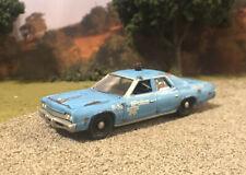1974 Dodge Monaco Police Custom Weathered Rusty Barn Find 1/64 Diecast Car