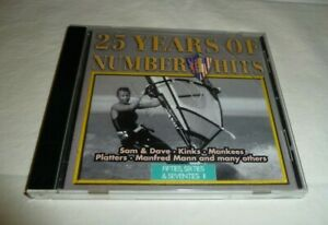 25 YEARS OF NUMBER 1 HITS Various Artist (CD) 16 songs Pre-Owned VGUC