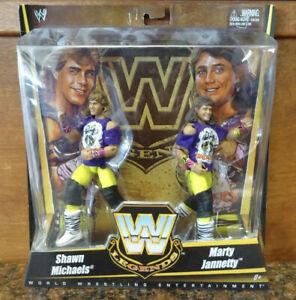 WWE The Rockers Shawn Michaels Marty Jannetty Elite Figure Legends Series WWF