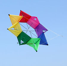 Colorful 3D Flower Kite Single Line Outdoor sports Toy BOX kites for kids