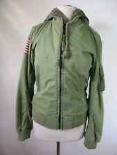 F3354 Denim & Supply Ralph Lauren Women's Full Zip Parka Hoodie Jacket Size XS