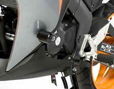 Honda CBR125R 2015 2016 2017 R&G Racing Aero Crash Protectors CP0281BL Black