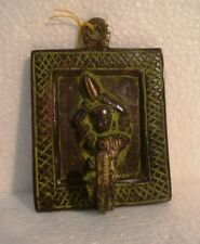 LARGE - ANTIQUE style BRASS Key Holder - Key Hanger – LADY TYPE (2361)