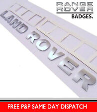 LAND ROVER DEFENDER 90 / 110  LETTERING TEMPLATE BONNET BADGES LETTERS FD5 PUMA