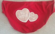 LANE BRYANT CACIQUE SASSY COTTON HIPSTER PANTY 22-24 BE WINE SO FINE RED