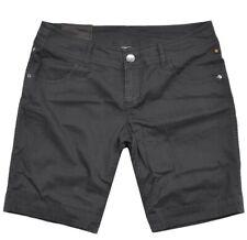 Oakley Femmes Shorts en Jeans Sp, `13 Pantalon Stretch Court Été Capri Noir UK10