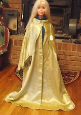 Light Olive Green Long Cloak with Mantle for Child, Teen or Small Adult FSGC32