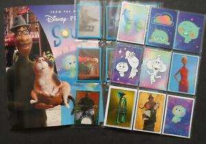 PANINI DISNEY SOUL MOVIE 180 STICKER SET & 50 CARD SET & ALBUM 2020