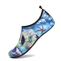SAGUARO Mens Water Sport Skin Shoes Aqua Socks Yoga Pool Beach Swim Surf US #023