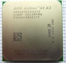 AMD Athlon 64 X2 6000+ Scoket AM2 Dual Core 3 Ghz ADX6000IAA6CZ US Free Shipping
