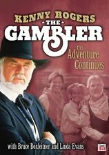 The Gambler The Adventure Continues (DVD, 2006) Kenny Rogers New (Read Auction)